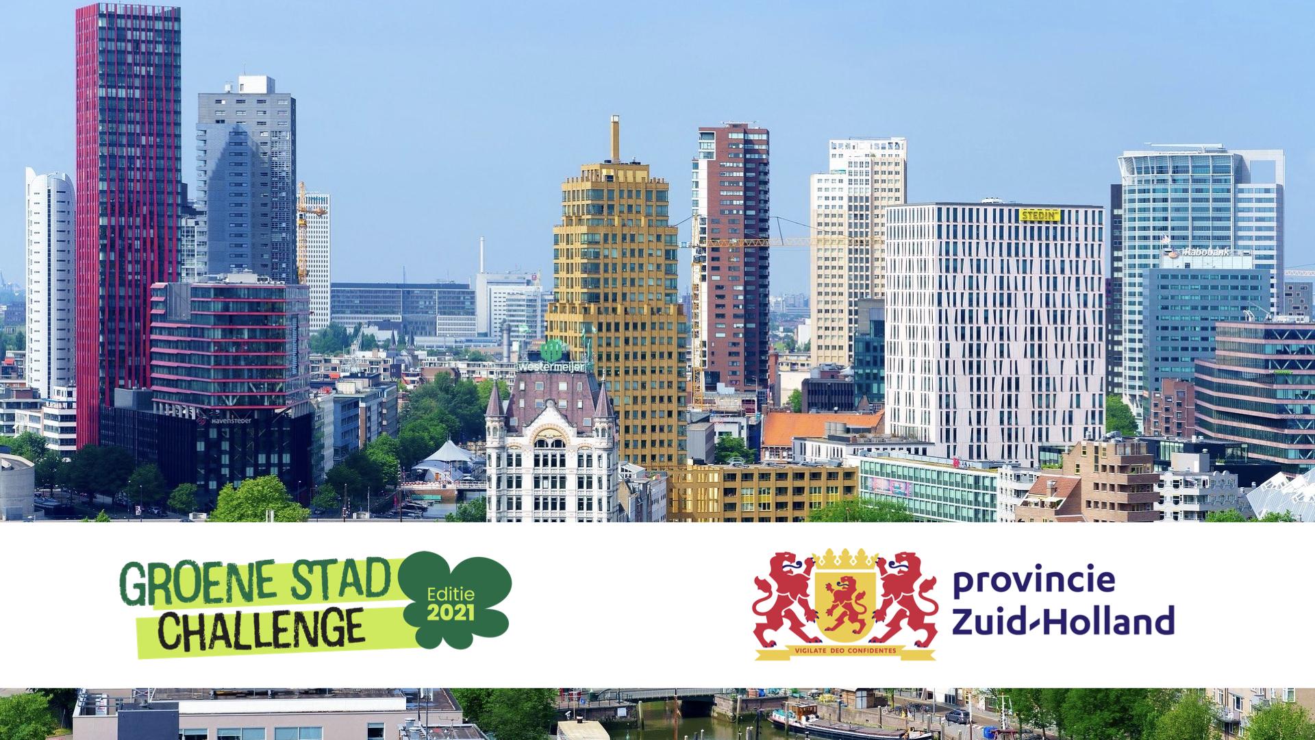 Zuid-Holland steunt Groene Stad Challenge